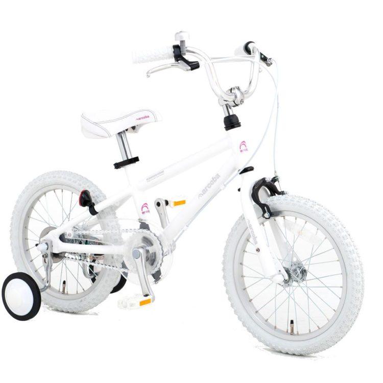 arcoba16インチ18インチ子供用自転車ホワイト